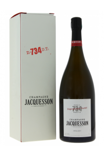 Champagne Wine Champagne Jacquesson n° 734 à Dégorgement Tardif